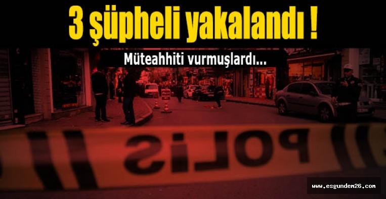 Eskişehir'deki silahla yaralamanın şüphelileri yakalandı