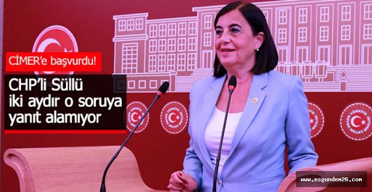 MECLİS'TEN YANIT ALAMADI, CİMER'E BAŞVURDU