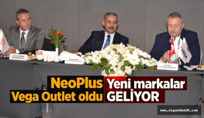 NeoPlus, Vega Outlet oldu