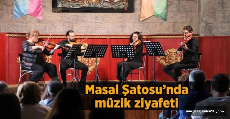 'Şato'da Müzik' etkinliği devam ediyor