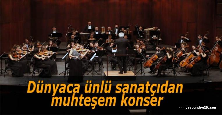 Senfoni Orkestrası Solozobova'yı ağırladı