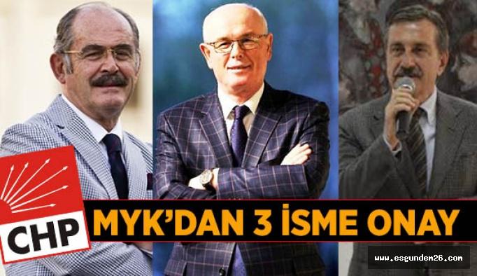 CHP MYK mevcut başkanların adaylıklarına 'tamam' dedi