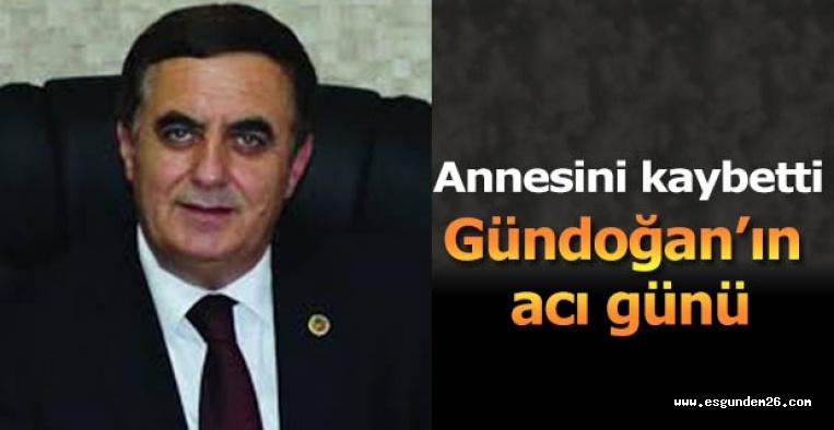İshak Gündoğan annesini kaybetti