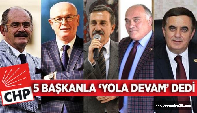 PM'den karar çıktı: CHP, Eskişehir'de aynı isimlerle seçime giriyor