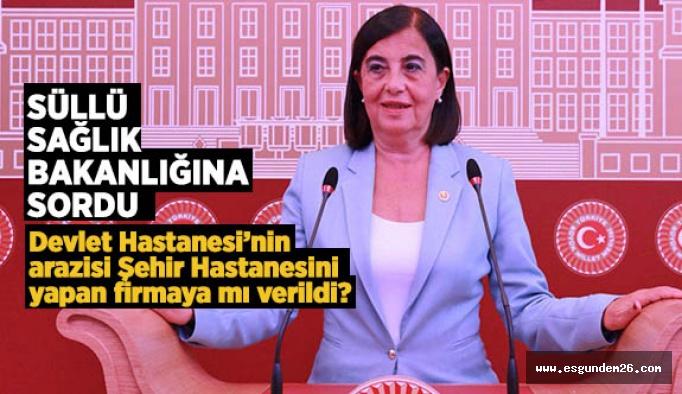 Süllü, Eskişehir'in sağlık yatırımlarını Meclis'e taşıdı