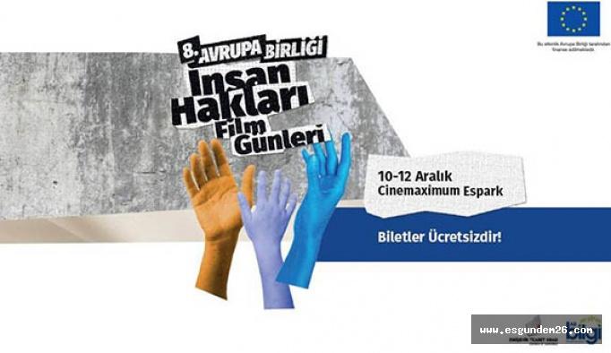Avrupa Birliği İnsan Hakları Film Günleri Eskişehir'de başlıyor!