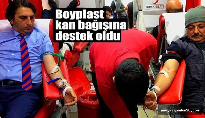 Boyplast'tan örnek bağış