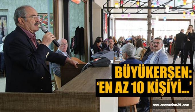 Büyükerşen: Türk milleti ağırlığını ortaya koyacak