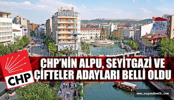 CHP'de 3 ilçe belediye başkan adayı belli oldu