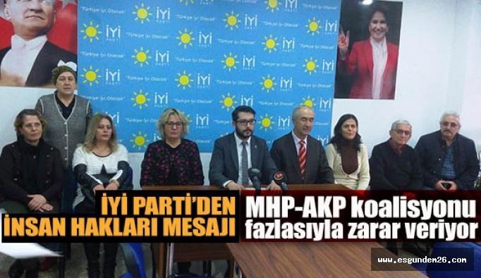 İYİ Parti: İnsan hakları ilkesi ihlal ediliyor