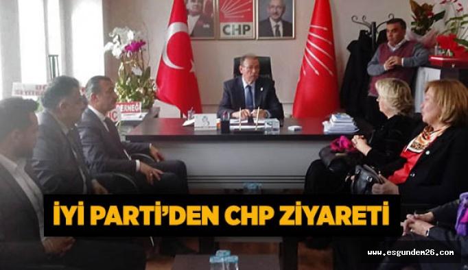 İYİ Parti'den CHP ziyareti