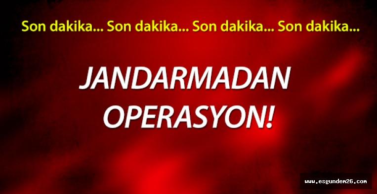 ESKİŞEHİR'DE HIRSIZLIK OPERASYONU