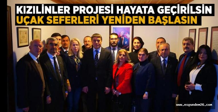 """""""YABANCI YATIRIMCILAR ESKİŞEHİR'E GELMELİ"""""""