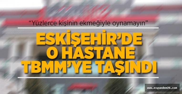 """""""BU HASTANE NEDEN ÇALIŞTIRILMIYOR"""
