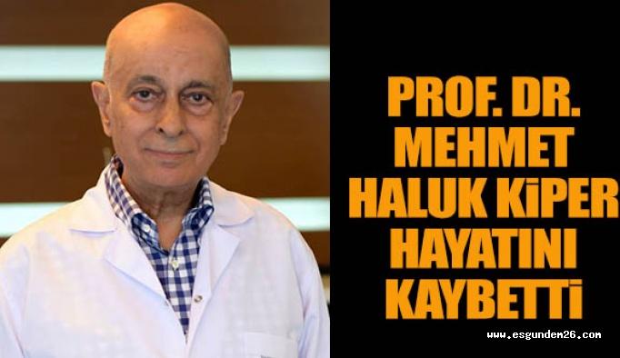 Prof. Dr. Mehmet Haluk Kiper hayatını kaybetti