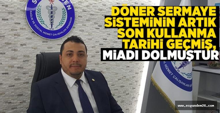 SAĞLIK SEN'DEN DÖNER SERMAYE TEPKİSİ