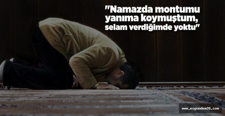 """""""SELAM VERDİĞİMDE MONTUM YOKTU"""""""