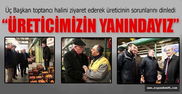 """""""ÜRETİCİMİZİN YANINDAYIZ"""""""