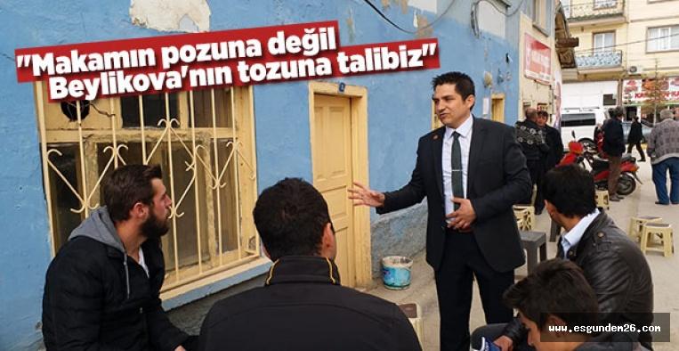"""""""BEYLİKOVA İÇİN ÇOK GÜZEL PROJELERİMİZ VAR"""""""