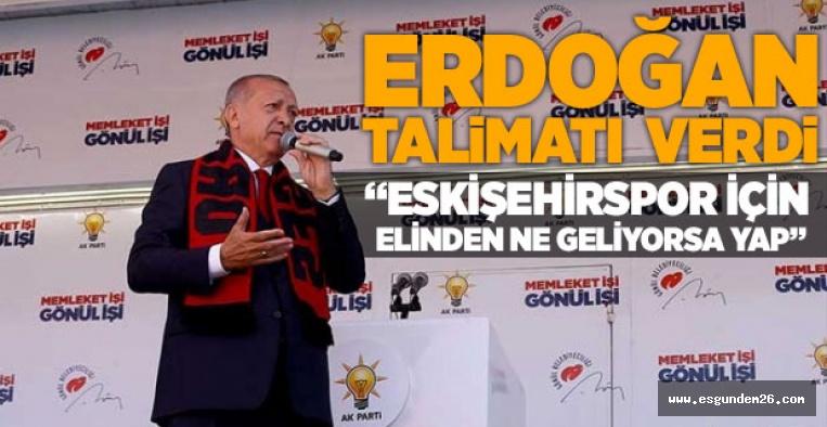 """""""ESKİŞEHİRSPOR İÇİN ELİNDEN NE GELİYORSA YAP"""""""