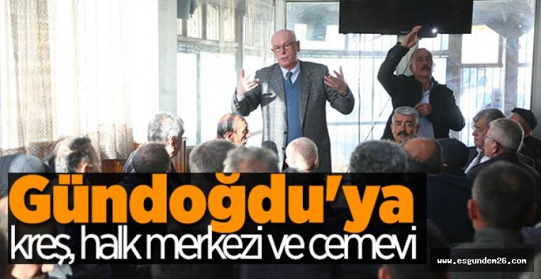 """""""GÜNDOĞDU  PROJESİNİ AKP BEKLETTİ"""""""