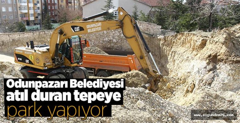 ODUNPAZARI BELEDİYESİ'NDEN BİR PARK DAHA