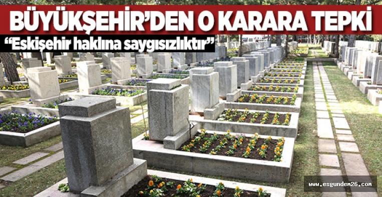 ŞEHİTLİKLER VALİLİĞİN DEĞİL HALKINDIR!