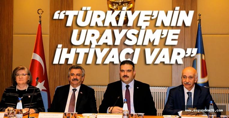 """""""URAYSİM'i 3 yılda bitirmeye çalışacağız"""""""