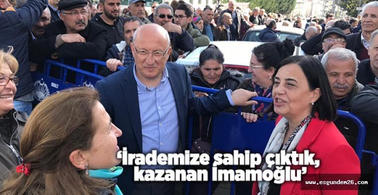 'ARTIK ADALET İSTİYORUZ'