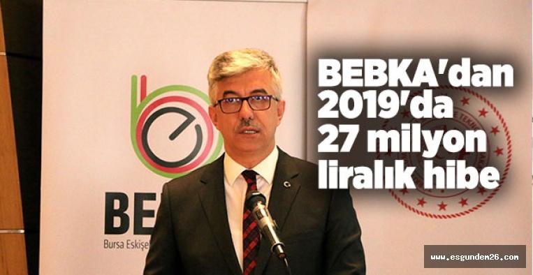 BEBKA'dan 27 milyon lira hibe
