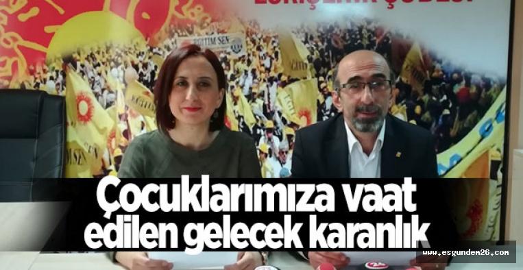 """""""ÇOCUKLARIMIZ İÇİN KALICI ÇÖZÜMLER ÜRETİLMEMEKTE"""""""