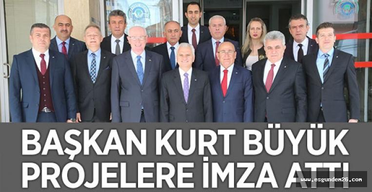 ETO'DAN KAZIM KURT'A ZİYARET