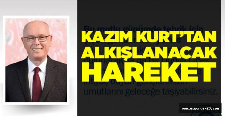 KAZIM KURT GÖNÜLLERİ FETHETTİ