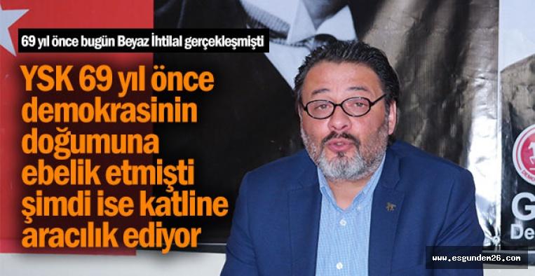 BUGÜN DEMOKRASİ BAYRAMIDIR ANCAK...