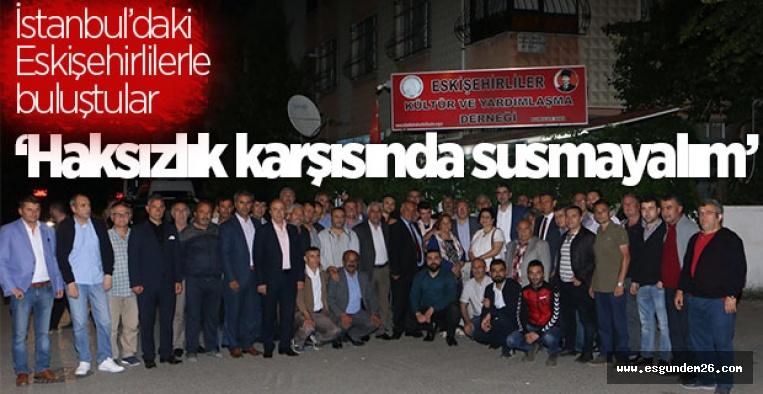 'HAKSIZLIK KARŞISINDA SUSMAYALIM'