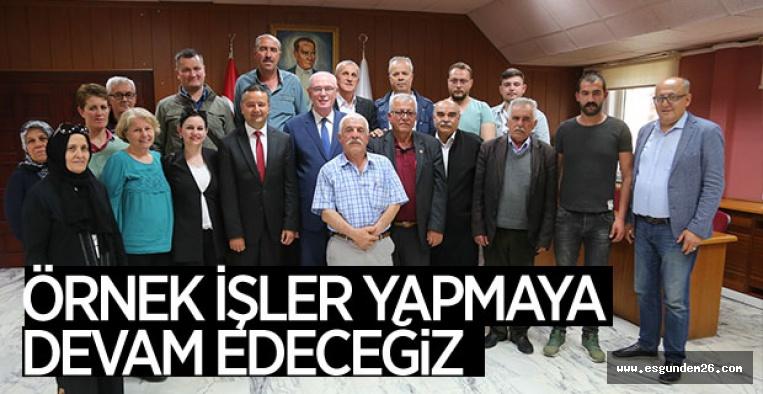 """""""ODUNPAZARI'NA 4 MEVSİM BAHARI YAŞATACAĞIZ"""""""
