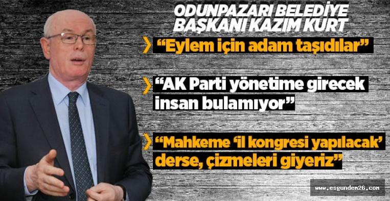 KAZIM KURT'TAN ÖNEMLİ AÇIKLAMALAR