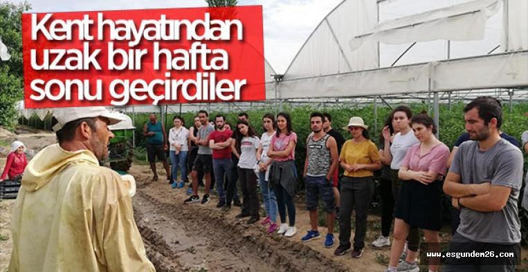 ÜRETİM KAMPI SEZONU BAŞLADI