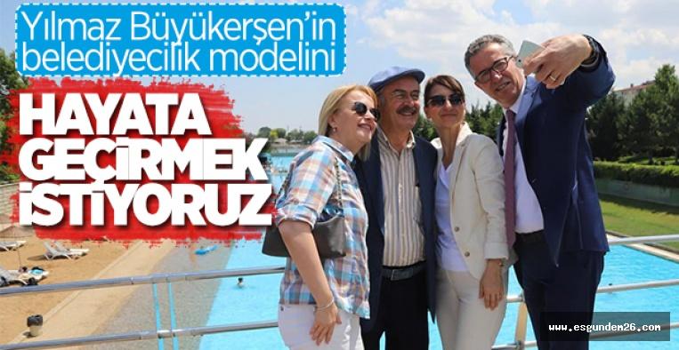 """ESKİŞEHİR'İ ÇOK BEĞENDİK"""