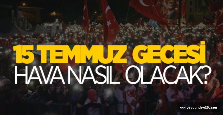 ESKİŞEHİRLİLER YARIN VE PAZARTESİ'YE DİKKAT!