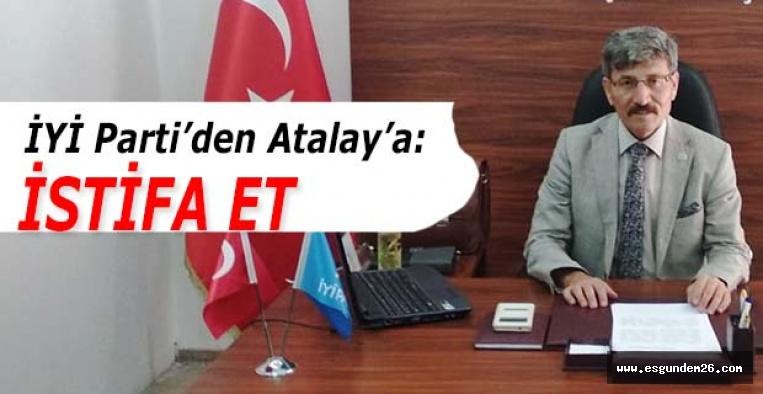 İYİ Parti Eskişehir İl Başkanı Mehmet Ektaş: Türk-İş,  bir kez daha işçiyi masada bıraktı