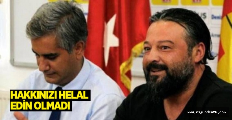 OSMAN TAŞ İSTİFA ETTİ