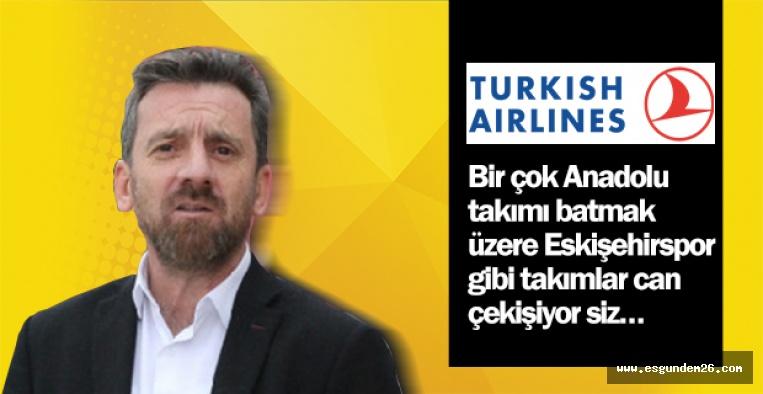 ŞİMŞEK'TEN THY'YE SPONSOR TEPKİSİ