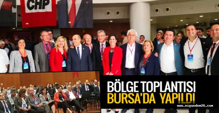 CHP BURSA'DA TOPLANDI