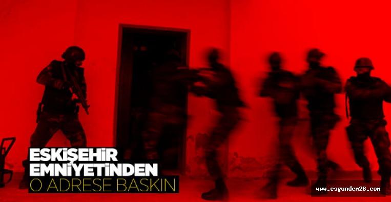 Eskişehir'de eroinle yakalanan şüpheli gözaltına alındı