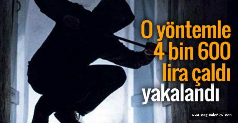 ESKİŞEHİR'DE HIRSIZLIK