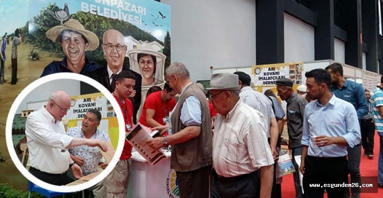 ODUNPAZARI BELEDİYESİ TARIM FUARI'NDA