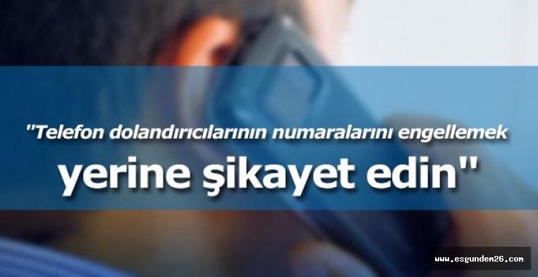 TUKDES Başkanı Bakkal: Telefon dolandırıcılığı artıyor