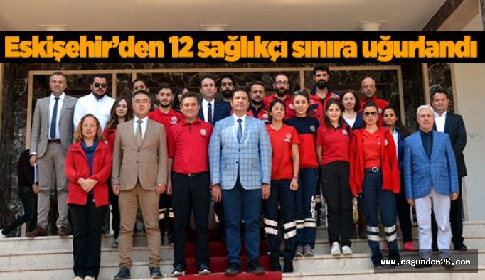 Barış Pınarı Harekatı'na sağlıkçı desteği