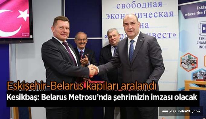 Eskişehir-Belarus kapıları aralandı